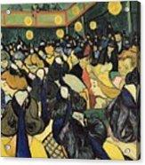 The Dance Hall At Arles Acrylic Print by Vincent Van Gogh