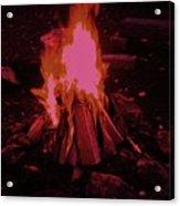 The Dance Of Fire Acrylic Print