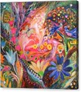 The Dance Of Flowers Acrylic Print