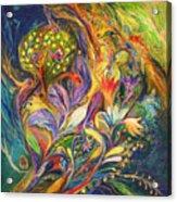 The Dance Of Lilies Acrylic Print