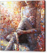 The Dancer In Ardent Acrylic Print