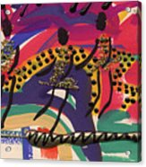 The Dancers Acrylic Print