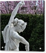 The Dancing Lesson Statue Acrylic Print