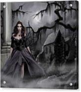 The Dark Caster Comes Acrylic Print