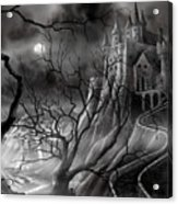 The Dark Castle Acrylic Print
