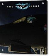 The Dark Knight 2 Acrylic Print