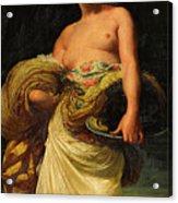 The Daughter Of Herodias, Salome Acrylic Print