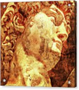 The David By Michelangelo Acrylic Print