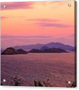 The Dawn Of Time Over St. Thomas Acrylic Print