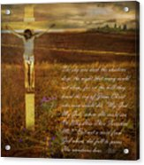 The Day Christ Died Acrylic Print