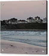 The Day Is Done At Long Sands Beach Acrylic Print