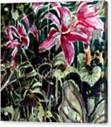 The Day Lilies Acrylic Print