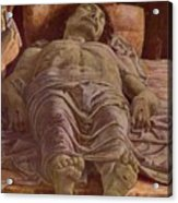 The Dead Christ 1478 Acrylic Print