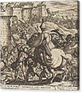 The Death Of Abimelech Acrylic Print