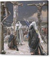 The Death Of Jesus Acrylic Print