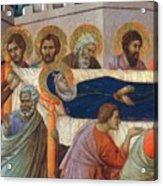 The Death Of Mary Fragment 1311 Acrylic Print