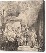 The Death Of The Virgin Acrylic Print