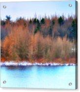 The Deep Forbidden Lake Acrylic Print