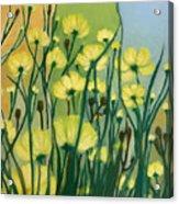 The Delightful Garden Acrylic Print