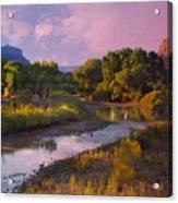 The Delores River At Gate Way Colorado Acrylic Print