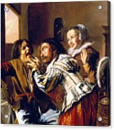 The Dentist, 1629 Acrylic Print