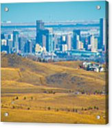 The Denver Skyline II Acrylic Print