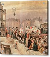 The Departure Of The Volunteers 1792 Acrylic Print