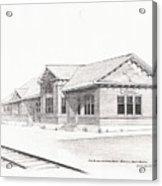 The Depot Mitchell South Dakota Acrylic Print