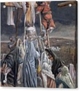 The Descent From The Cross Acrylic Print by Tissot