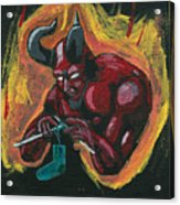 The Devil's Day Of Down Time Acrylic Print