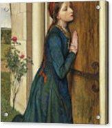 The Devout Childhood Of Saint Elizabeth Of Hungary, 1852 Acrylic Print