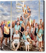 The Dezzutti Family Acrylic Print