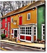 The Diamondback Tavern Of Ellicott City Acrylic Print