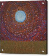 The Difficulty Of Crossing A Field Original Painting Acrylic Print