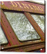 The Dining Car Acrylic Print
