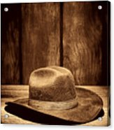 The Dirty Brown Hat Acrylic Print