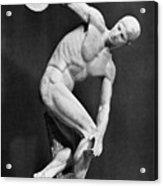 The Discobolus, 450.b.c Acrylic Print by Granger