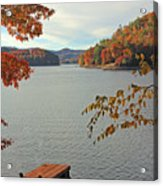The Dock Acrylic Print