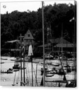 The Docks Acrylic Print