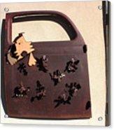 The Doggie Door Acrylic Print