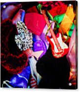 The Dolls Are Hoarders Acrylic Print