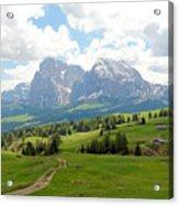 The Dolomites, Italy Acrylic Print