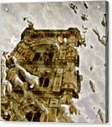 The Dome In The Puddle Acrylic Print
