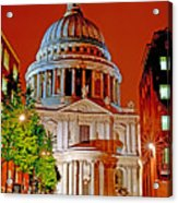 The Dome Of St Pauls Acrylic Print