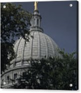 The Dome Of The Capitol Building Acrylic Print
