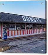 The Donut Shop No Longer 2, Niceville, Florida Acrylic Print