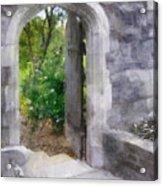 The Door Into Summer Acrylic Print