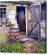 The Door Is Always Open Acrylic Print