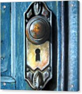 The Door Knob Acrylic Print