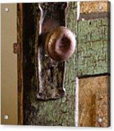 The Door Knob Acrylic Print